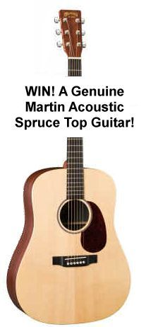 WIN! Win a new Martin guitar